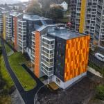 Steni. Solheimslien residential building