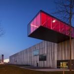 Concrete factory building, Belgium 01