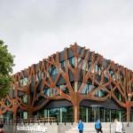 Metadecor-MD Designperforation-Graafschap-College-Doetinchem-tree-facade-corten-steel